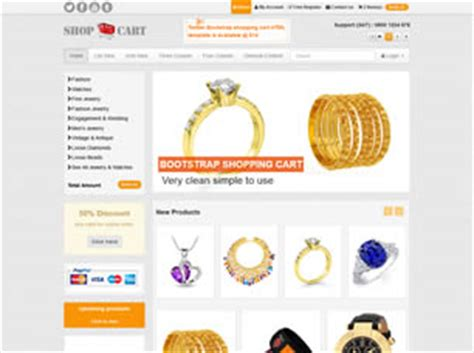 Free Online Shop Website Templates 93 Free Css Shopping Cart Html Template
