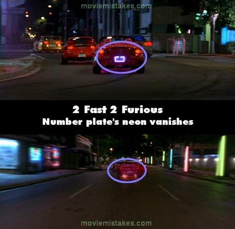 fast and furious mistakes 2 fast 2 furious movie mistake picture 4