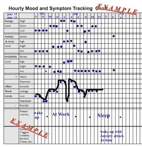 hourly mood swings hourly mood and symptom chart pennsylvania echoes