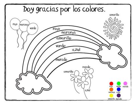 spanish coloring pages christian giving thanks doy gracias coloring page printable