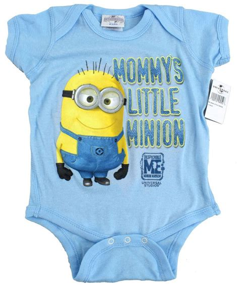 Despicable me dave baby onesie blue mommy s little minion mayhem all sizes new for the boy