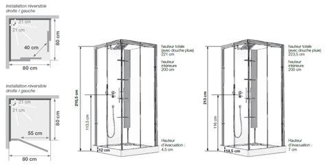 hauteur de robinet de cabine de horizon c90 receveur faible hauteur