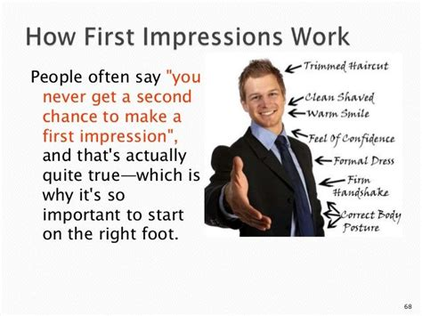 7 Ways To Make A Impression At An by Impressions You Only Get 1 Chance To Create A