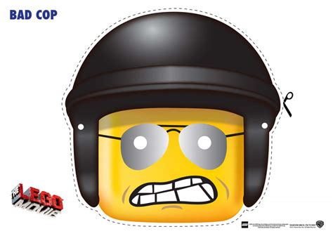 lego mask printable template the lego movie character mask cut outs the brick fan