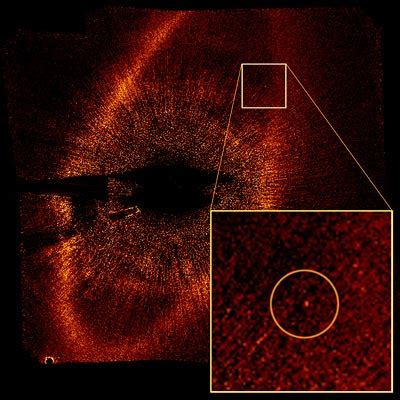 11.13.2008 hubble snaps first optical photo of exoplanet