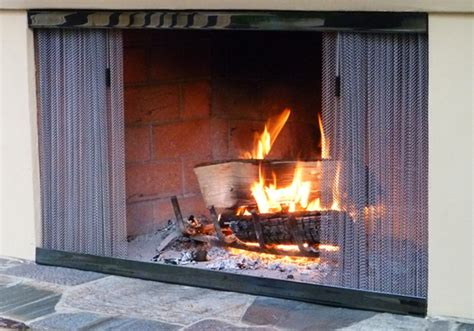 Outdoor Fireplace Screens by 1000 Images About Screens On Hearth