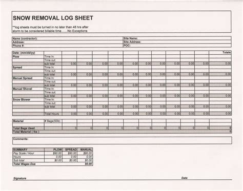 Excel Room Layout Template anyone care to share a nice log sheet 4 snow plowsite