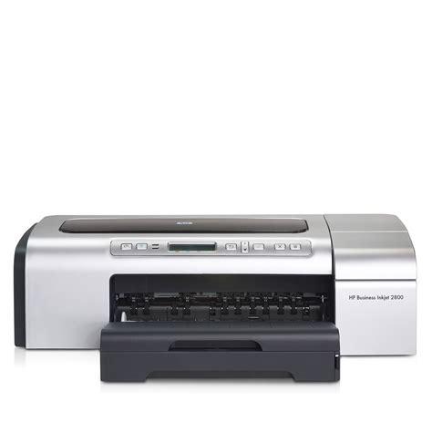 Printer Hp Business Inkjet 2800 hp 2800 a3 colour inkjet printer c8174a