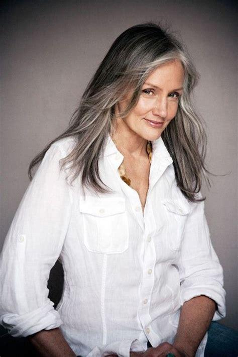 long hair 60 age model cindy joseph style womens pinterest