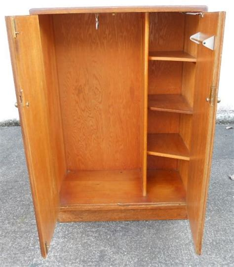 Small Wardrobe by Deco Oak Small Hanging Wardrobe Cupboard 210403