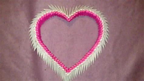 tutorial origami corazon origami 3d coraz 243 n heart link de tutorial en descripci 243 n