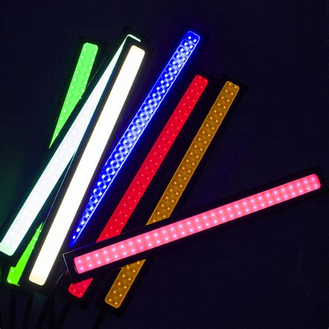 layout running led 20 led 2piece 14cm 100 waterproof ultra thin cob chip led