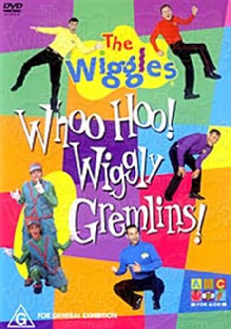scoring with the wrong wags volume 1 books wiggles the woo hoo wiggly gremlins dvd