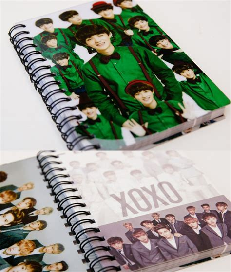 Notebook Exo 106 best images about notebook diy on bookbinding tutorial smash book and exo
