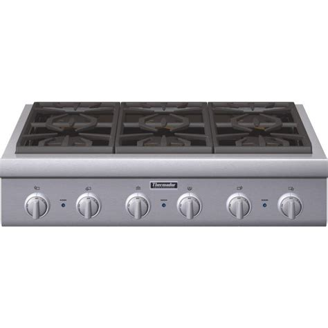Wolf Electric Cooktops Pcg366g Thermador Professional 36 Quot Gas Rangetop 6 Burners