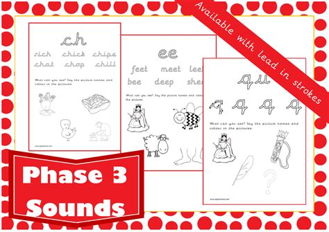 printable games for phase 3 phonics resources epicphonics com