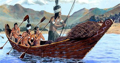 types of native american boats california