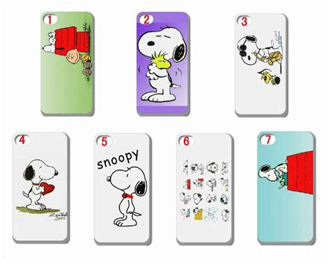 Snoopy For Iphone 6 wholesale 10pcs snoopy back cover skin for