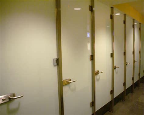 Bathroom Stall Partitions Crl Frameless Quot All Glass Quot Restroom Partition System