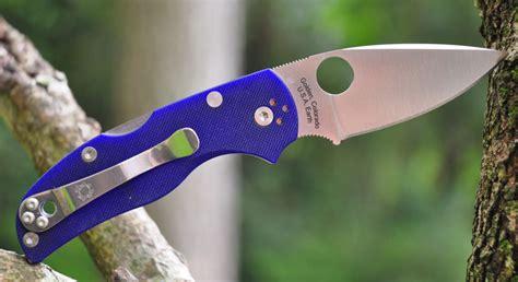 spyderco s110v spyderco 5 s110v g10 review knife informer