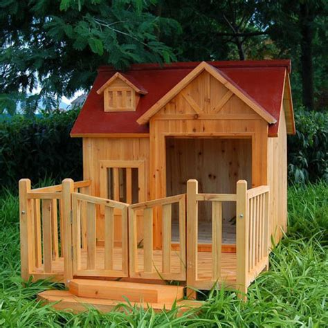 pics of dog houses wood dog house pictures