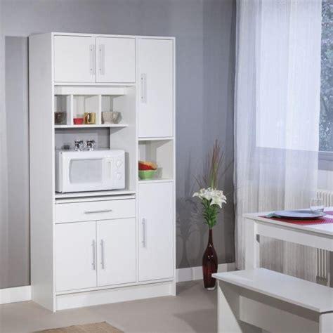 micro onde tiroir meuble desserte micro ondes rangement cuisine buffet