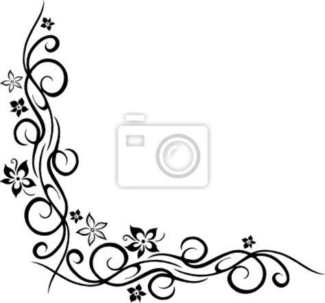 Keltische Muster Vorlagen Kostenlos Sticker Ranke Floral Ornament Mit Blumen Bl 252 Ten Style Stammes Wandtatoo