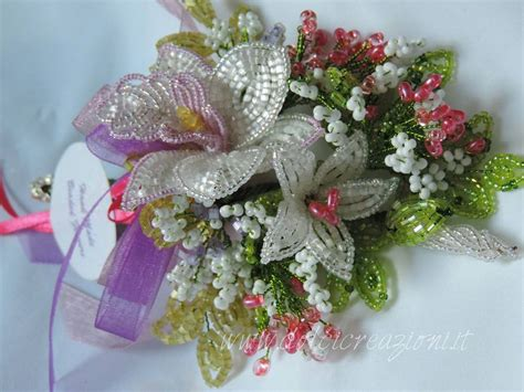 fiori di perline fiori di perline beaded flowers orchidea orchid