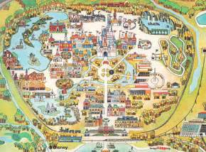 map disney world florida disney world map free large images