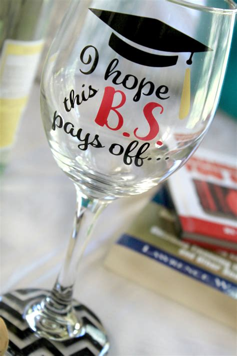 graduation wine glass graduate wine glass funny wine glass