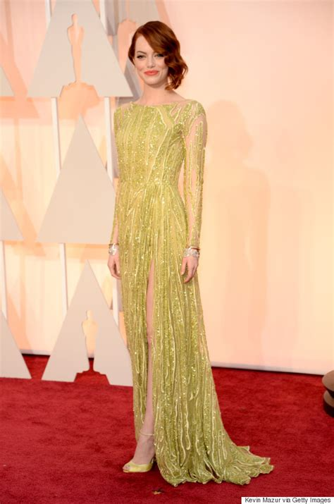 emma stone oscar emma stone s oscar dress 2015 is arguably the best of the