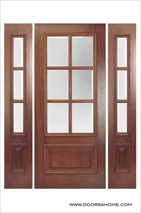 Doors 4 Home by Entry Door Model Dd6l Traditional Front Doors By
