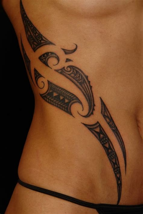 tribal side tattoos for girls side tribal designs best design