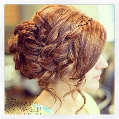 waterfall braid bun 28 diy hairstyles timeless wedding hairstyles from hair and makeup by steph