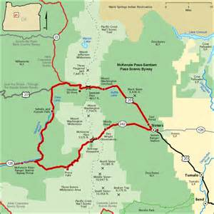 oregon scenic byways map images