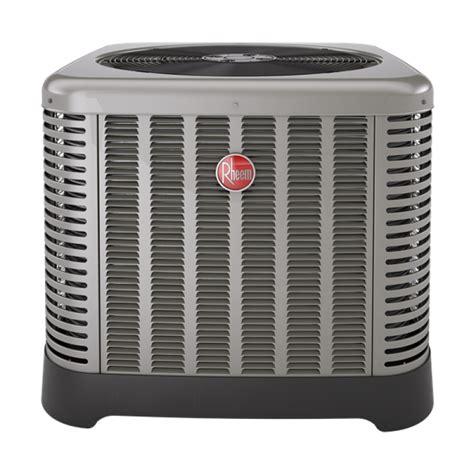 capacitor rheem ac unit 2 5 ton rheem 14 seer r 410a air conditioner condenser classic series national air warehouse