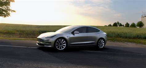 Tesla Motors Tesla Motors Model 3 Specs 2017 Autoevolution
