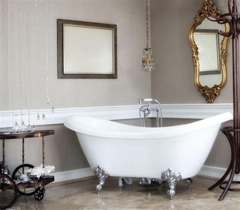 la baignoire pattes de pour une salle de bains