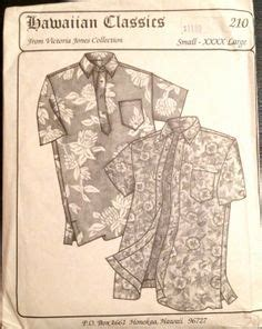 sewing pattern aloha shirt sewing for men on pinterest men shirts for men and menswear