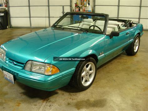 1992 lx mustang 1992 ford mustang lx convertible 2 door 5 0l