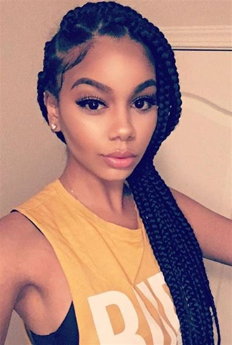 pictures of really big box braids hairstyle big box braids hairstyles fade haircut
