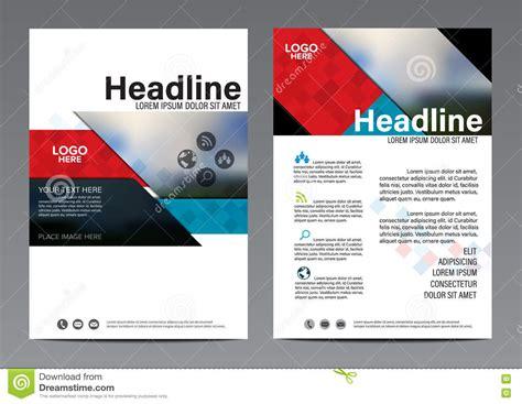 Red Brochure Annual Report Flyer Design Template Leaflet Cover Presentation Modern Flat Presentation Flyer Template