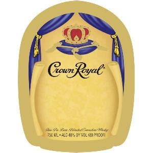 custom crown royal bottle labels  shipping