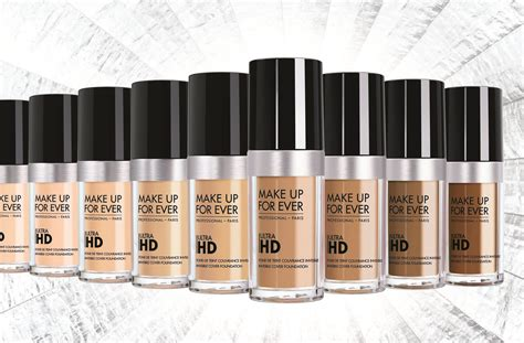 Makeup Forever Ultra Hd Foundation make up for ultra hd foundation 超進化無瑕粉底液 pro