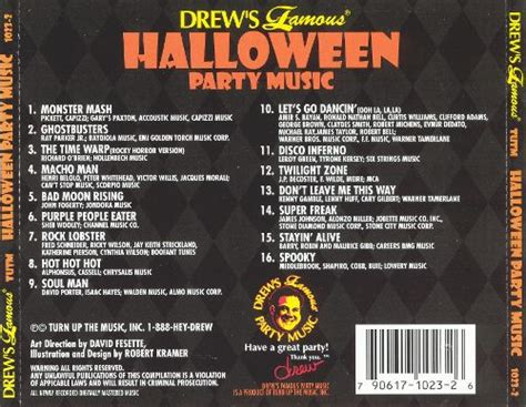 party music drew s famous halloween party music drew s famous