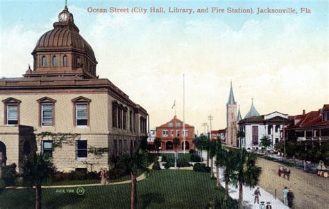 City Of Jacksonville Records Florida Memory City Library And