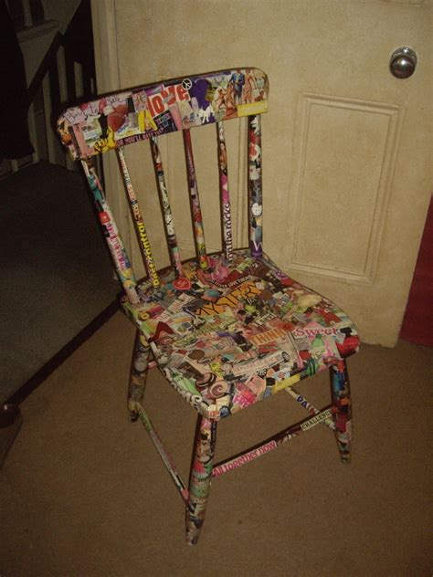 How To Make Chairs - collage chair 183 how to make a chair 183 collage and