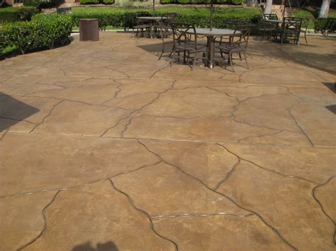 flagstone saw cut overlay with acrylic stain and dye yelp