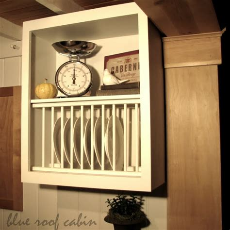 How To Build A Plate Rack Cabinet 20 inspiring diy kitchen cabinets simple do it yourself ideas home and gardening ideas