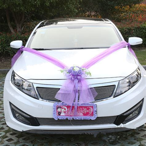 Wedding Car Decoration Wedding Simulation Korean Float